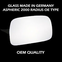 Toyota Starlet Wing Mirror Glass - Silver,RH(Driver Side), 1990 to 1999