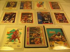 Lot of 11 Basketball Cards STOCKTON Thomas JABBAR Barkley ROBINSON [b5b4]