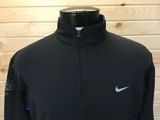 Vintage Nike Athletic Pullover Jacket Shirt Men's L 1996 Nyc Marathon