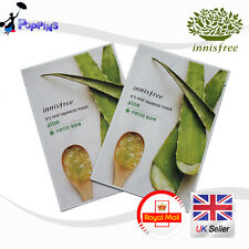 2 X New Innisfree Its Real Squeeze Series Sheet Mask Aloe (20ml x 2)
