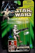 Star Wars Attack of the Clones Sneak Preview CLONE TROOPER New! Rare!