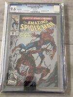 The Amazing Spider-Man #361 2nd Print CGC 9.6 (Apr 1992,Marvel) 1st app Carnage