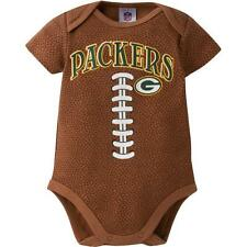 Green Bay Packers NFL Baby Football Bodysuit, 0 - 3 Months, New With Tags