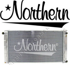 Northern 205055 High Performance Aluminum Radiator 71-79 Chevy fullsize Car M/T