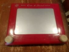 Vintage Etch a Sketch No. 505 Working Red Classic Toy