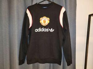 MANCHESTER Man UNITED Utd Adidas Originals Sweater Sweatshirt Jumper M Top Shirt