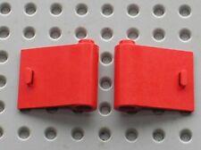 Portes LEGO VINTAGE red  doors 3188 & 3189 /Set 180 8155 8153 4563 374 347 658..