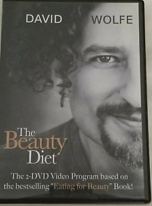 David Wolfe: The Beauty Diet 2 DVD Set - in Very Good Condition