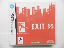 jeu EXIT sur nintendo DS en francais game juego spiel juego gioco complet TBE