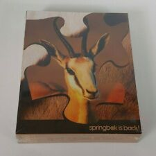 Springbok Gazelle Puzzle - 500 Pieces - COMPLETE/SEALED!