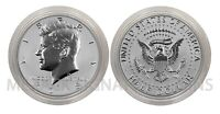 2018-S Kennedy Half Dollar Encapsulated from Silver Reverse Proof 50th Ann Set