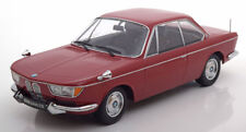 Bmw 2000 Cs 1965 Dark Red Limited 1000 Pcs 1:18 Model KK SCALE