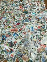 10,000 STAMPS - Used - With Blocks - Several Countries - With MANY FROM EUROPE