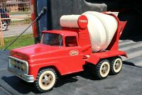 Tonka Cement Mixer Delivery Truck - pressed steel - USA