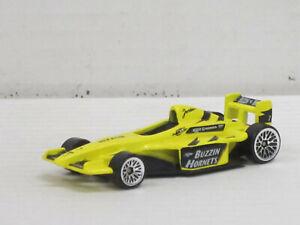 Jordan Honda Rennwagen Formel 1 in gelb Nr.7, ohne OVP, Hot Wheels, ca. 1:64
