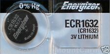 1 New ENERGIZER CR1632 Lithium 3v Coin Battery Australia Stock FAST SHIPPING