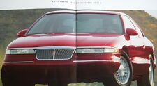 1994 Lincoln Mark VIII Large Sales Brochure w/Exterior Paint Chips