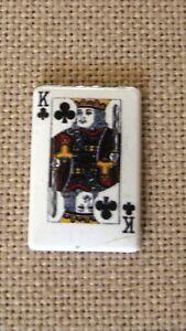 Metal Enamel Card King Needle Minder Keeper Cross Stitch D110 Fridge Magnet
