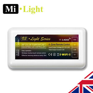 Milight CCT 2.4G 4 Zone wifi RF led strip Receiver Controller Temperature Change