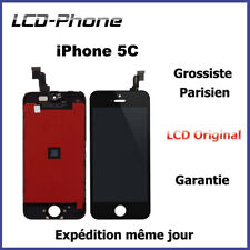 Ecran iPhone 5C LCD RETINA ORIGINAL + Vitre Tactile Sur Chassis Original Apple