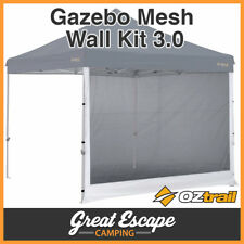 3x OZtrail Gazebo Mesh Side Walls for 3 X 3m Deluxe and Standard Gazebos