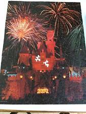 Springbok Walt Disney Disneyland Castle Fireworks Vtg Jigsaw Puzzle Hallmark