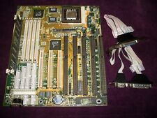 5ISA  Iwill P55XPlus AT Socket 7 Ali M1531 Aladdin4 Motherboard with CPU and RAM