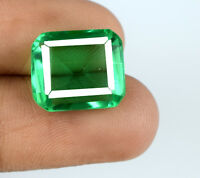 Muzo Colombian Green Emerald 8-10 Ct 100% Natural Emerald Cut AGSL Certified