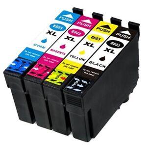 Cartouches EPSON compatibles 603 XL ( série étoile de mer) Pack 4 cartouches