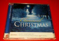 CLASSICAL CHRISTMAS, MOZART, HANDED,  BIDET, BACH - CHRISTMAS CD.