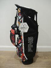 Ping Hoofer Lite Golf Stand Bag - Black Tropic White colours stunning & Rare