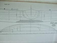 ANTIQUE PRINT C1895 DIXON KEMP SAILING YACHT & BOAT MERSEY CANOE VITAL SPARK