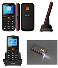 Mobile Cell Phone For Senior Citizens Big Dial Buttons Help SOS Function Unlock
