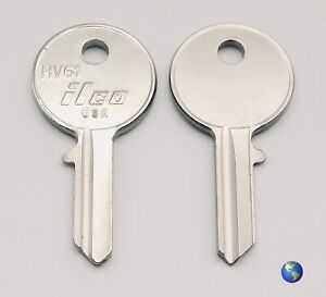 HV61 Key Blanks for Various Products/Models by Talbot, Renault & others (2 Keys)