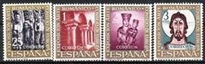 Spanien Nr.1260/63 ** Ausstellung Romanische Kunst 1961, postfrisch
