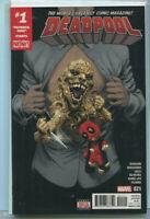 "Deadpool #21 NM "" #1 Patience Zero Starts Now""  Marvel Comics CBX37"