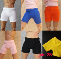 1:6 Scale Male Underwear Protective Shorts Clothes Fit 12'' Soldier Figure Body