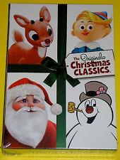 The Original Christmas Classics DVD Box Set (DVD, 2011, 2-Disc Set) NEW Rudolph