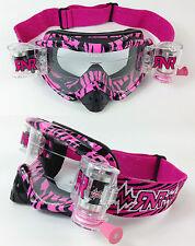 RIP ' N ROLL MOTOCROSS MX ENDURO lunettes de protection hybride RnR SAUVAGE ROSE