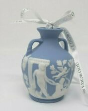 Wedgewood Porceland Vase Christmas Ornament w/ Box