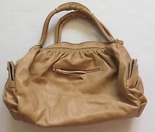 �� Generic No-Brand Beautiful Handbag/Purse-Faux Tan Leather