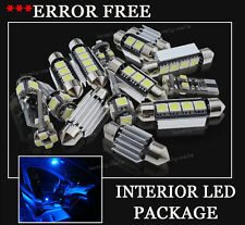 10x Bulbs For BMW E46 COUPE 1998-2007 INTERIOR PACKAGE XENON BLUE LED LIGHT KIT
