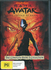 Avatar - The Last Airbender - Fire : Book 3 : Vol 1-4 (DVD, 2015, 4-Disc Set)