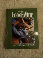The Best Of Food & Wine: Vegetables, Salads, Grains, Hardcover