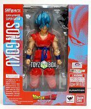 "S.H. Figuarts Bandai Action Figure SSGSS ""Super Saiyan God Goku Dragonball Z DBZ"