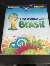Complete PANINI WORLD CUP BRAZIL 2014 FULLY COMPLETED STICKER ALBUM