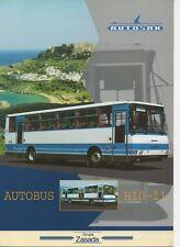 Autosan H10-11 bus (made in Poland) _1998 Prospekt / Brochure