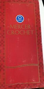 Coat Mercer Crochet yarn Cream / Beige 10 ×20Gr