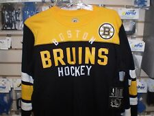 NHL BOSTON BRUINS G-III APPAREL LONG SLEEVE ADULT T SHIRT LARGE LG L