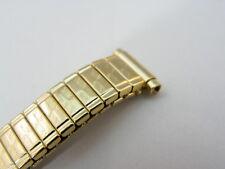 FLEXON,TwistOflex,9mm,10mm,11mm,12mm,Gold Plated,NOS,LADIES WATCH BAND,B10-16